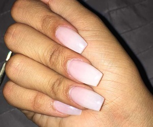hand, nails, and white image