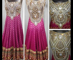 dress, girl, and anarkali image