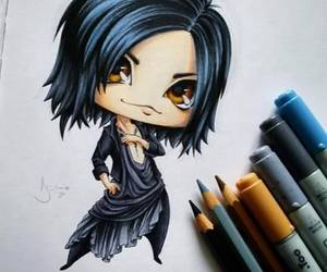 aoi, fanart, and the gazette image