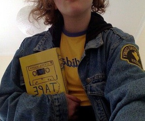 yellow, grunge, and book image