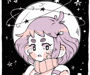 pastel, space, and anime image