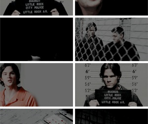 dean winchester, edit, and sam winchester image