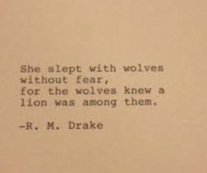 quote and r m drake image