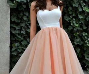 dress, party dress, and style image