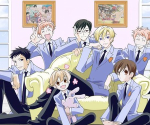 anime and host club image