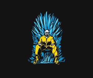 breaking bad, iron throne, and meth image