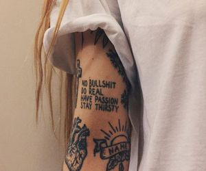 fashion, ink, and cute image