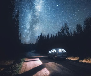 nature, stars, and travel image