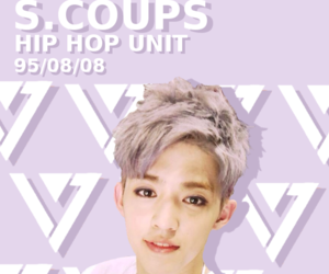 kpop, Seventeen, and s.coups image