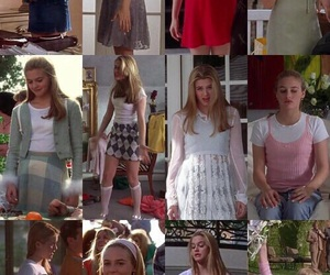 90's, alicia silverstone, and fashion image