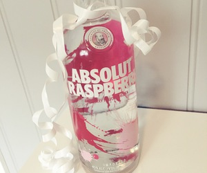 absolut vodka, alcohol, and girly image