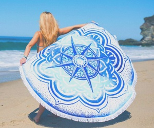 beach, girly, and pastel image