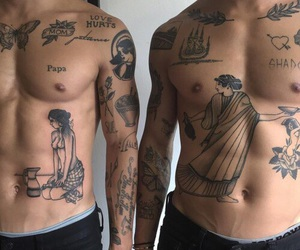 tattoo and boys image