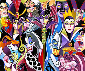 disney and villain image