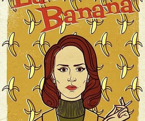 ahs, american horror story, and lana banana image