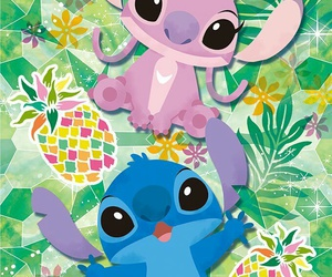 disney, wallpaper, and Aloha image
