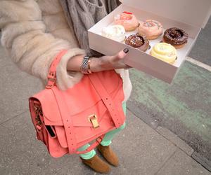 fashion, bag, and cupcake image