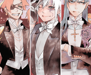 d.gray man and d gray man image