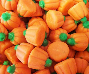 pumpkin, candy, and Halloween image