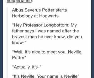 funny, harry potter, and neville longbottom image