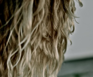 beach, blonde, and curls image