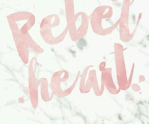 wallpaper, pink, and rebel image