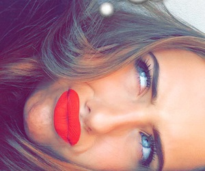babe, lips, and red image