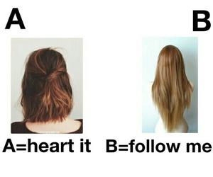 hair, short hair, and tall hair image
