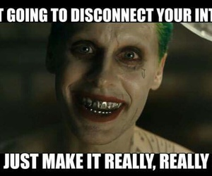 funny, joker, and suicide squad image