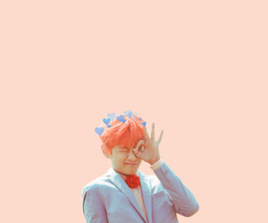 kpop, pastel, and v image