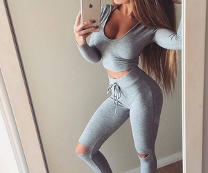 grey and outfit image
