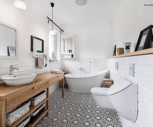 bathroom, interior, and Scandinavian image