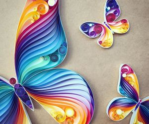 butterfly and Paper image
