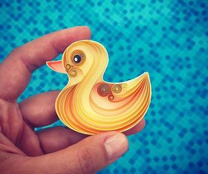 duck, Paper, and quilling image