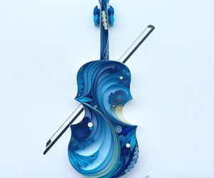 quilling and vialonchel paper image