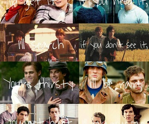 harry and ron, stefan and damon, and sherlock and watson image