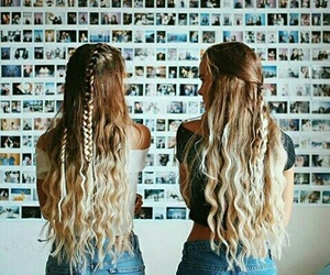 bff, hair, and friends image