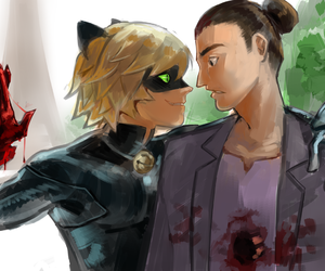 miraculous ladybug, cat noir, and theo barbot image
