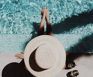 hat, summer, and fashion image