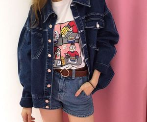 style, 90s, and jacket image