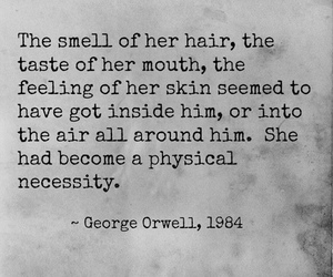 quote, love, and George Orwell image