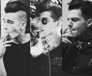 the 1975, arctic monkeys, and alex turner image