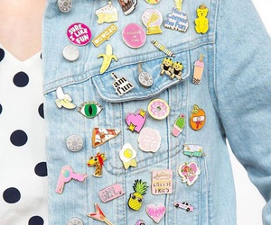 jacket, jeans, and kawaii image