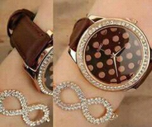 bracelet, fashion, and infinie image