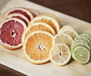 fruit, orange, and lemon image