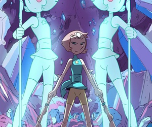 steven universe, pearl, and art image