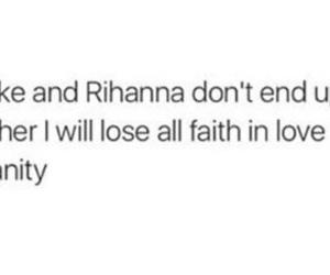 couple, Drake, and faith image