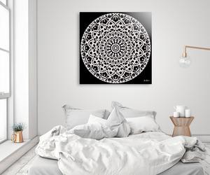 art, mandala, and posters image