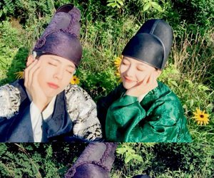 park bo gum and moonlight drawn by clouds image