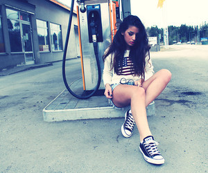 clothes, converse, and girls image